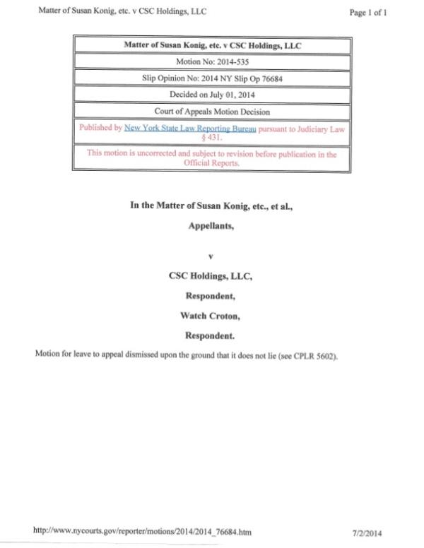 LEGAL 19485251v1 Court of Appeals Decision